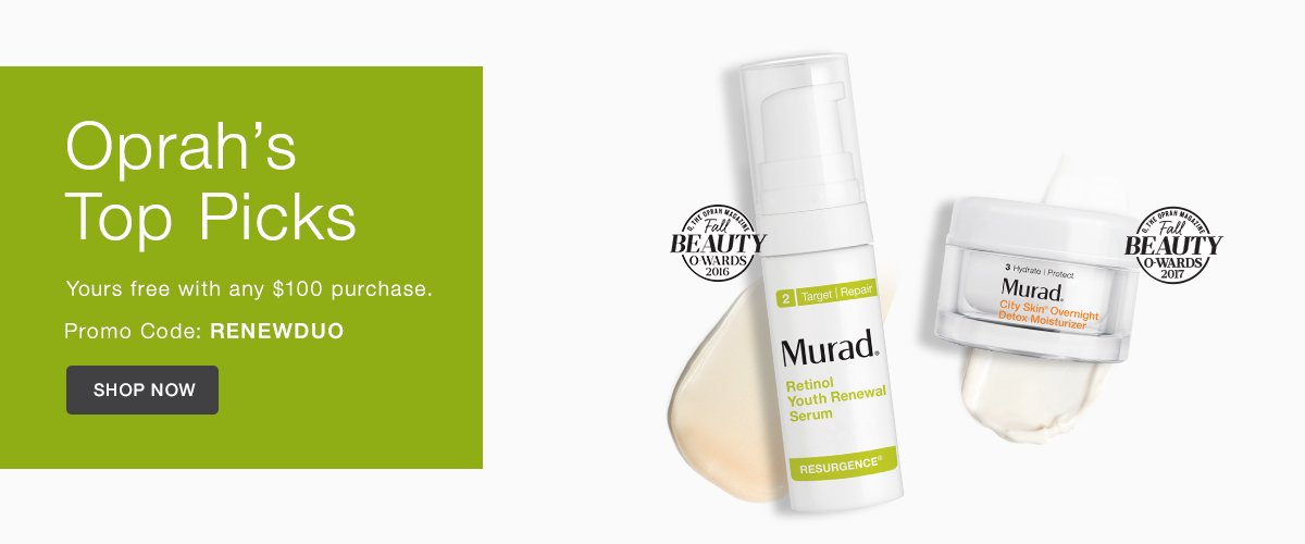 Murad Skin Care Coupon